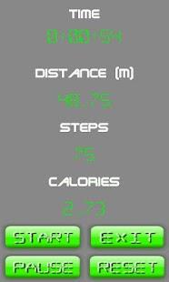 Runners Pedometer/Caloriemeter - screenshot thumbnail