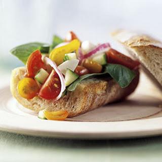 Gazpacho Sandwich to Go