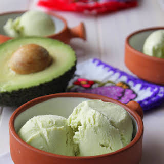 Avocado Ice Cream.