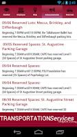Screenshot of FSU Tranz