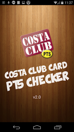 Costa Points Checker 2