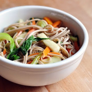 Soba Noodle Salad with Bok Choy