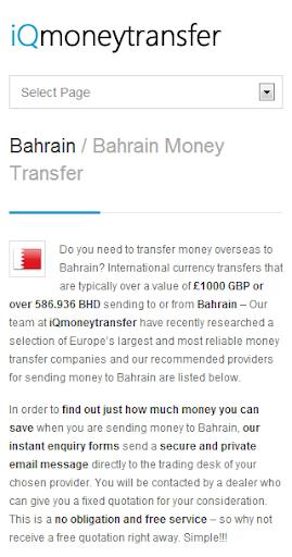 Bahrain Transfer BHD