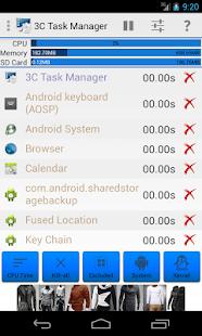 3C Task Manager - náhled