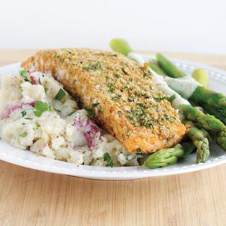 Horseradish Salmon & Asparagus