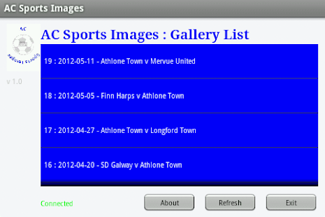 AC Sports Images- screenshot thumbnail