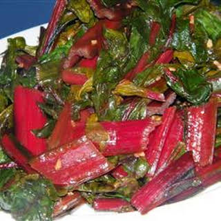 Simple Swiss Chard.