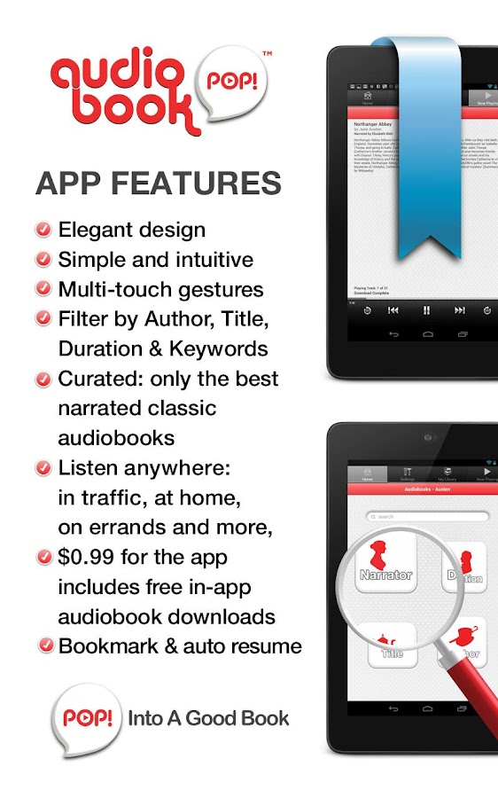 Audiobooks For Your Kids- screenshot