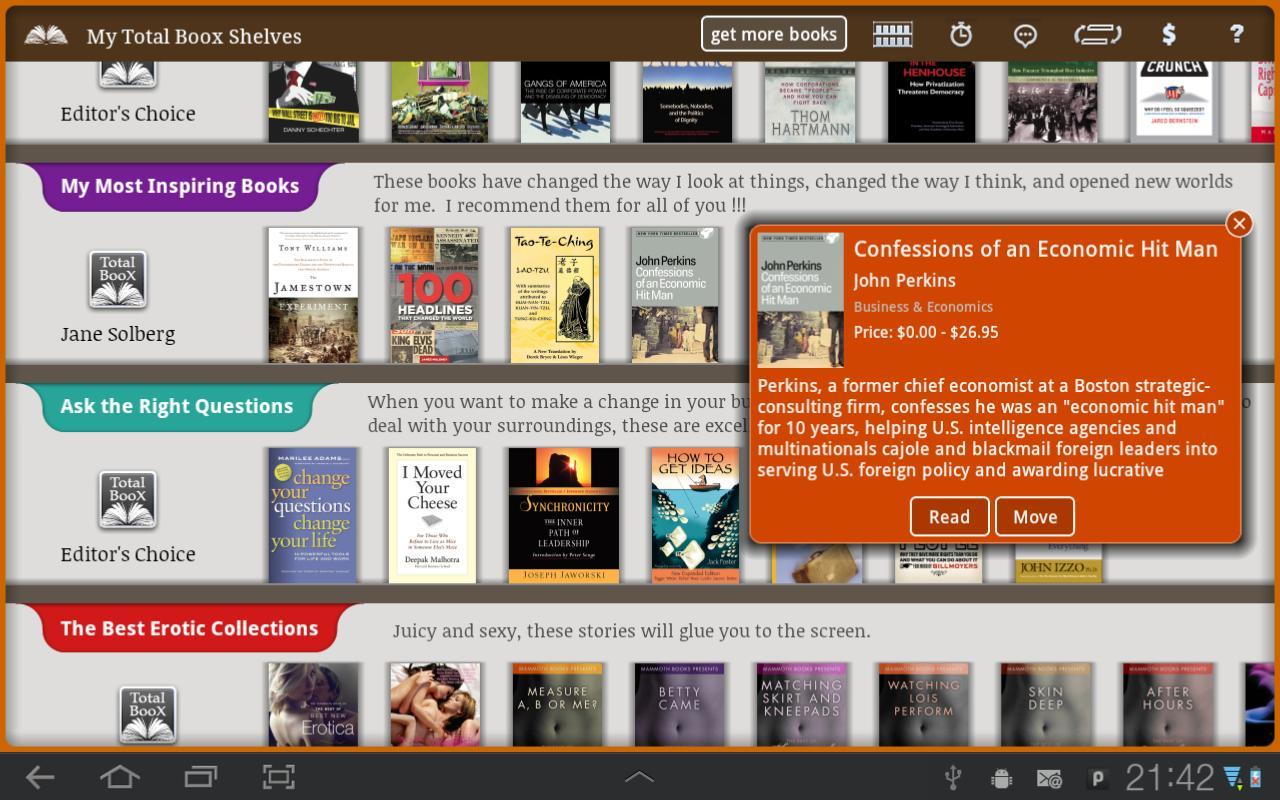 E-Books Reader App - Free - screenshot