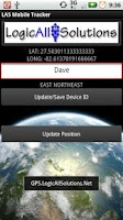 Screenshot of LAS MobileTracker