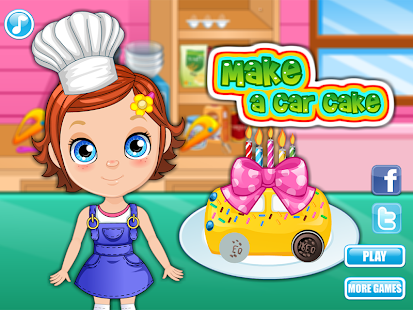 Make a Car Cake- screenshot thumbnail