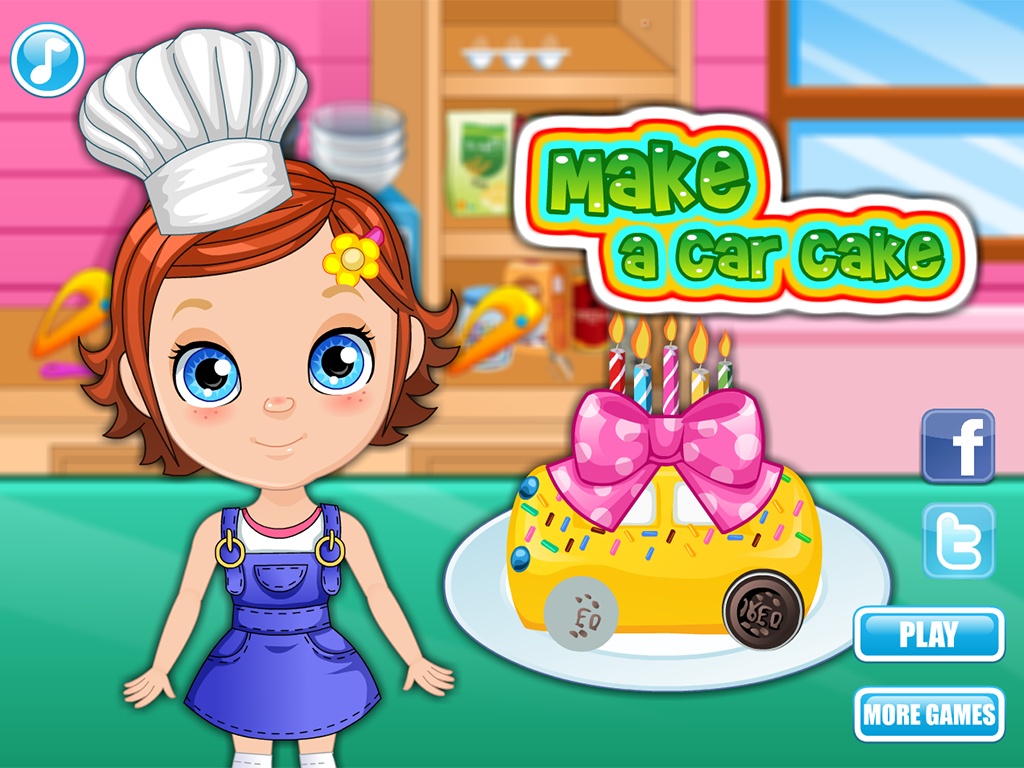 Make a Car Cake- screenshot
