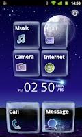 Screenshot of [MXHome] Glass theme Full ver.