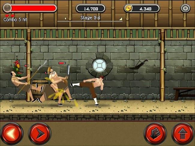KungFu Quest : The Jade Tower- screenshot