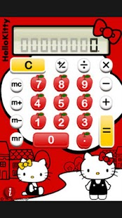 Hello Kitty Calculator - screenshot thumbnail