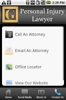 Screenshot of Personal Injury Lawyer