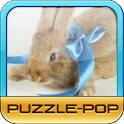 Puzzle-Pop: Lovely Rabbit logo