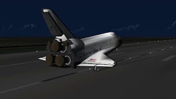 Screenshot of F-Sim Space Shuttle