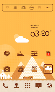 Honey village dodol theme|免費玩個人化App-阿達玩APP