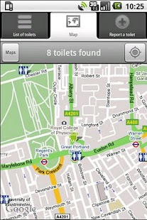Toilet/Bathroom Finder - screenshot thumbnail