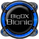 Bionic Launcher Theme Blue logo