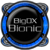 Bionic Launcher Theme Blue