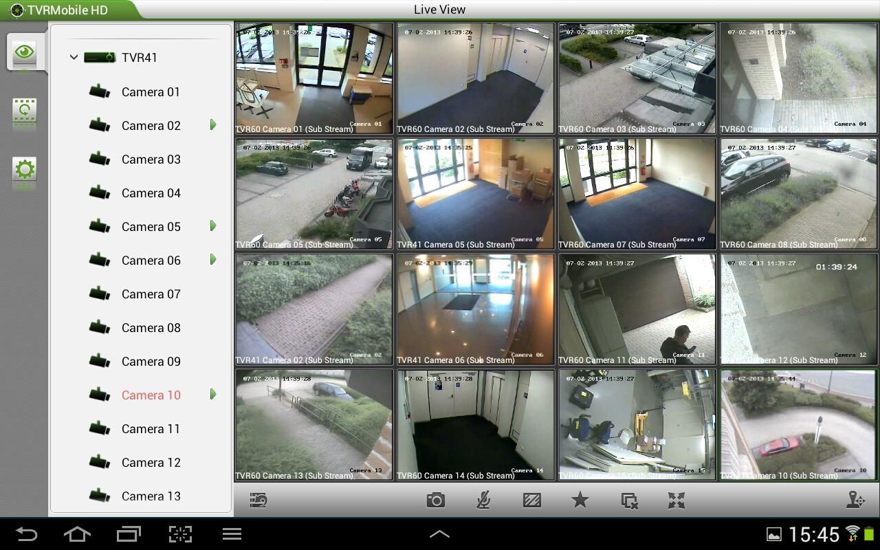 TruVision TVRmobile HD(Tablet)- screenshot