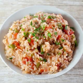 Cajun Rice.