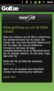 Golfguiden - screenshot thumbnail