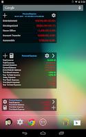 Screenshot of Expense Manager