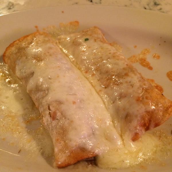 Gluten free carnitas enchiladas!