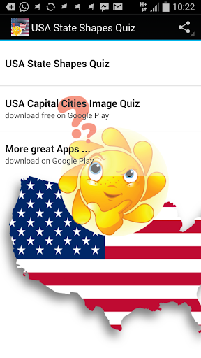 USA States Shape Quiz