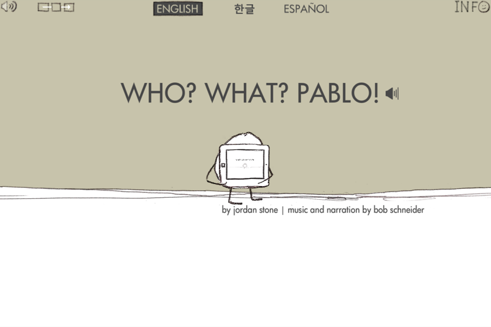 Who? What? Pablo!- screenshot