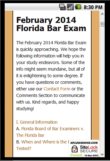 florida bar exam essays july 2012 Florida bar essay predictions essay subject frequency since july 2011 florida con law, or trusts bar examiners are going to be reading a lot of bullshit.