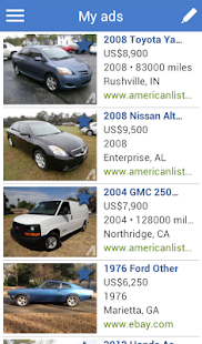 Search for used cars to buy- screenshot thumbnail