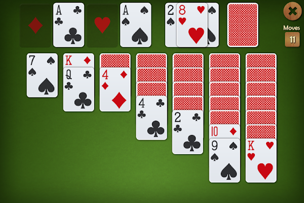 Spades Solitaire Backgammon - screenshot