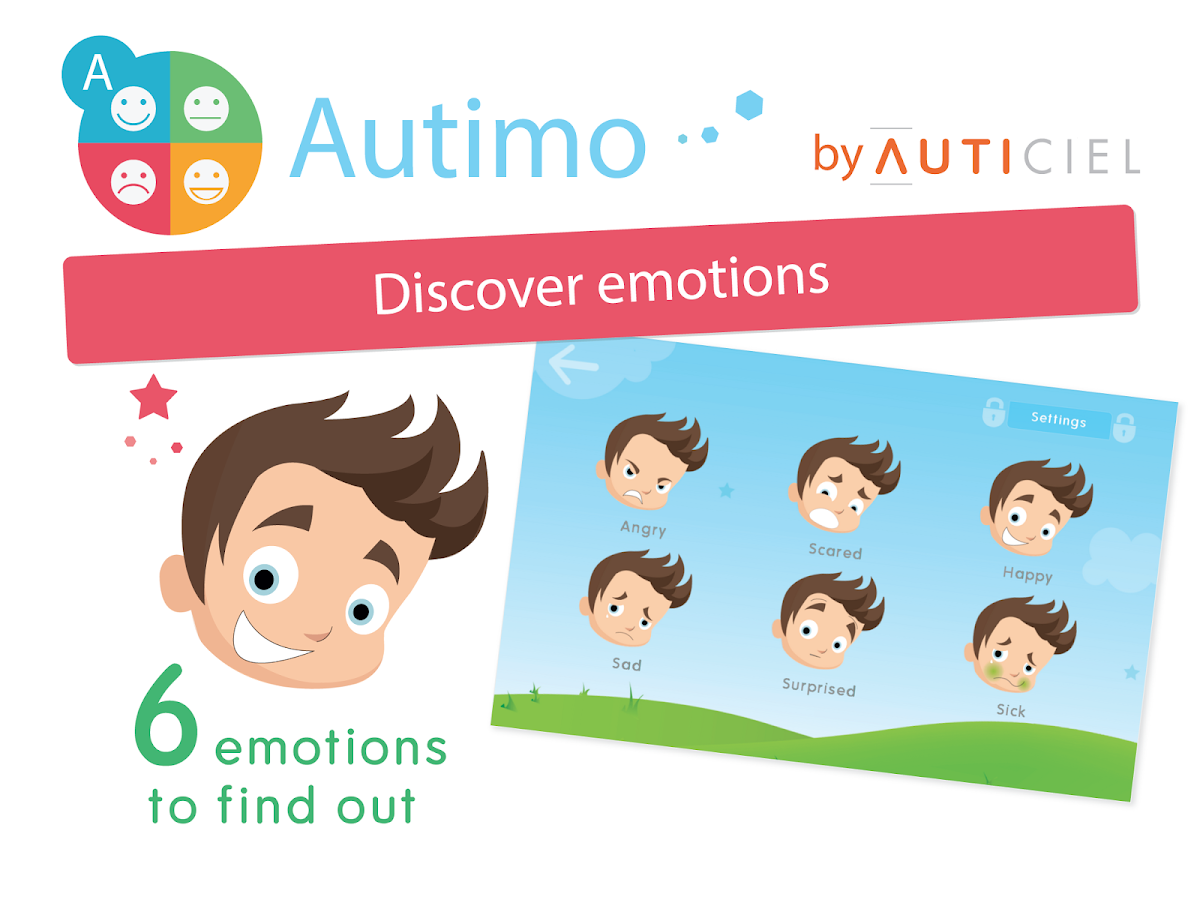 Autimo - Discover emotions - screenshot