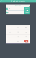 Screenshot of Simple Unit Converter