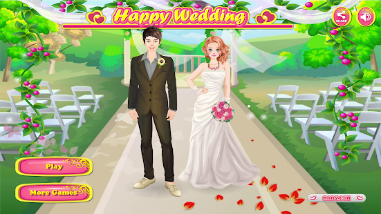 Happy Wedding -女孩小游戏