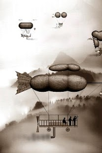 Steampunk Airships Wallpaper - screenshot thumbnail
