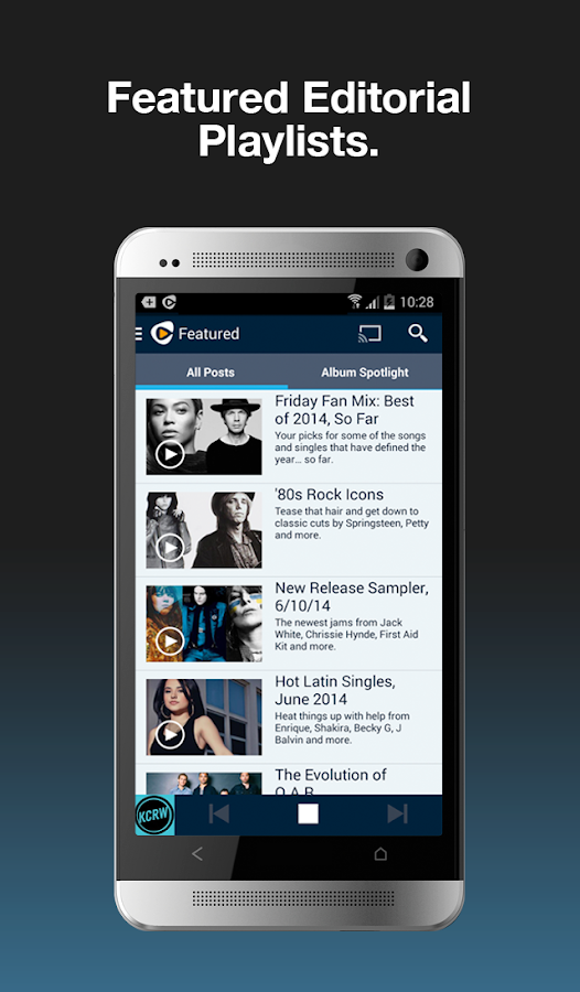 Rhapsody - Music & Radio - screenshot
