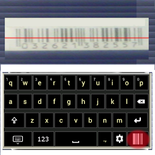 Keyboard + BARCODE SCANNER- screenshot thumbnail
