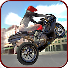 City Trial Motorbike icon