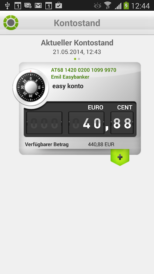 easybank- screenshot