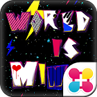 カラフル壁紙 World is Mine icon