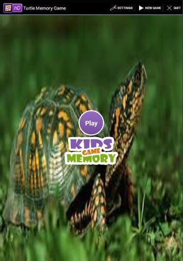 Turtle Memory Game