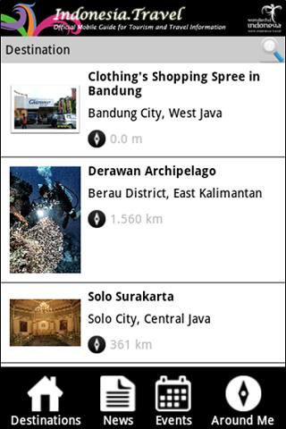 Indotravel Mobile 2014 - screenshot