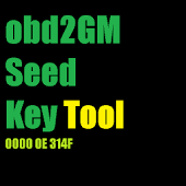 obd2 GM Seed Key Tool