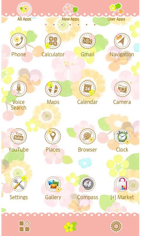 Flower Flow for [+]HOME - screenshot