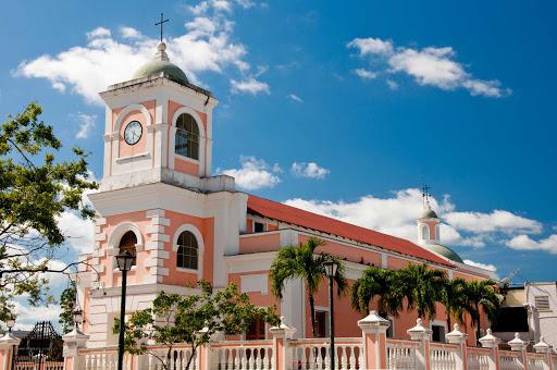 Catedral Santiago Apóstol in Fajardo, along the northeast coast of PuertoRico.